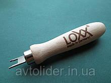LOXX - ключ с деревянной ручкой для тентовой кнопки