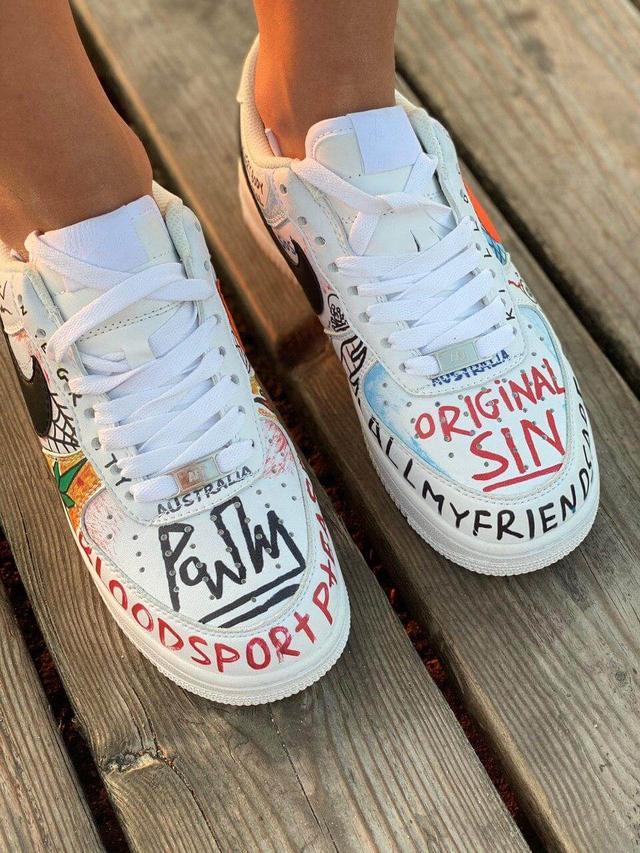 Nike air force Pauly x Vlone Pop