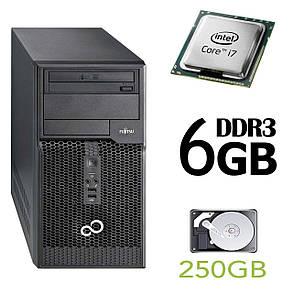 Fujitsu p510 Tower / Intel Core i7-2600 (4(8) ядра по 3.4-3.8GHz) / 6GB DDR3 / 250GB HDD, фото 2