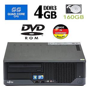 Fujitsu e5731 SFF / Intel Core 2 Quad Q6600 (4 ядра по 2.4GHz) / 4GB DDR3 / 160GB HDD, фото 2