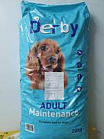 Корм для собак сухой полноценный Дерби 20 кг