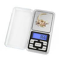 Высокоточные ювелирные карманные весы MH-200 (ms-1724) до 200гр + Батарейки, фото 1