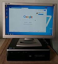 HP 8000 Compaq Elite / Intel Core 2 Duo E8500 (2 ядра по 3.16GHz) / 4GB RAM / 160GB HDD + Windows 7 + монитор / 19' / 1600x900, фото 3