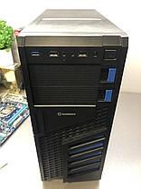 GameMax Tower NEW / Intel Core i5-2400 (4 ядра по 3.1 - 3.4 GHz) / 8 GB DDR3 / 120 GB SSD NEW+500 GB HDD WD NEW / AMD Radeon RX 580 Nitro+, 4 GB, фото 3