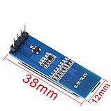 """Индикатор OLED 0.91"""" 128x32 синий, фото 2"""
