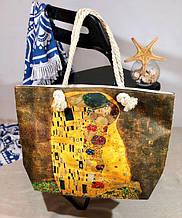 Пляжна сумка жіноча Папайя