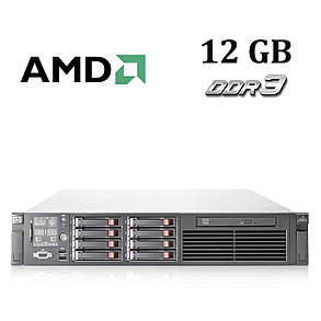 HP Proliant DL385 G6 2U / AMD Opteron 2431 (6 ядер по 2.40 GHz) / 12 GB DDR3 / No HDD, фото 2