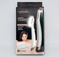 Женский тример для лица FINISHING TOUCH Flawless Dermaplane GLO с LED подсветкой., фото 1