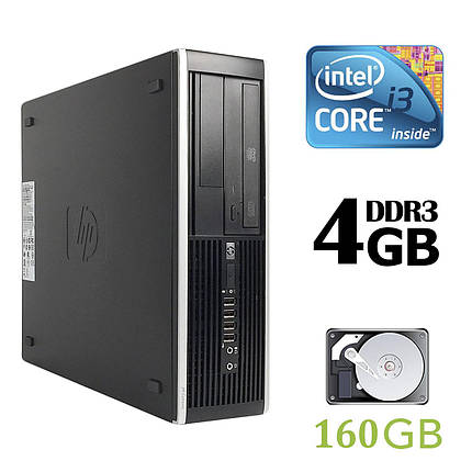 HP Compaq 6200 Pro SFF / Intel® Core™ i3-2100 (2 (4) ядра по 3.10 GHz) / 4 GB DDR3 / 160 GB HDD, фото 2