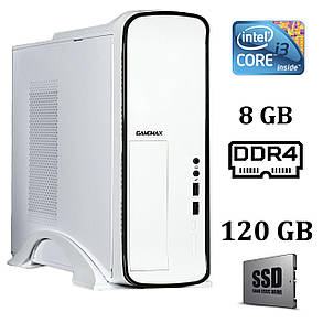 Gamemax ST610W Desktop / Intel® Core™ i3-7100 (2 (4) ядра по  3.90 GHz) / 8 GB DDR4 / 120 GB SSD, фото 2