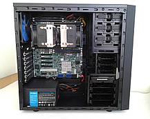 Midi-Tower / 2x Intel Xeon E5-2660 v2 (10 (20) ядер по 2.2 - 3.0 GHz) / 64 GB DDR3 / 1000 GB HDD / 650W, фото 3