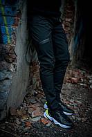 Теплые штаны карго черные Conqueror Intruder + подарок, фото 1