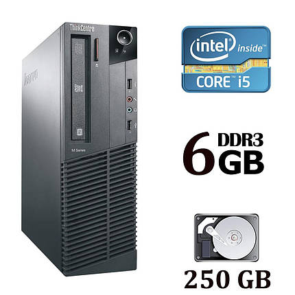 Lenovo Thinkcentre M91 p70 Desktop / Intel® Core™ i5-2400 (4 ядра по 3.10 - 3.40 GHz) / 6 GB DDR3 / 250 GB HDD, фото 2