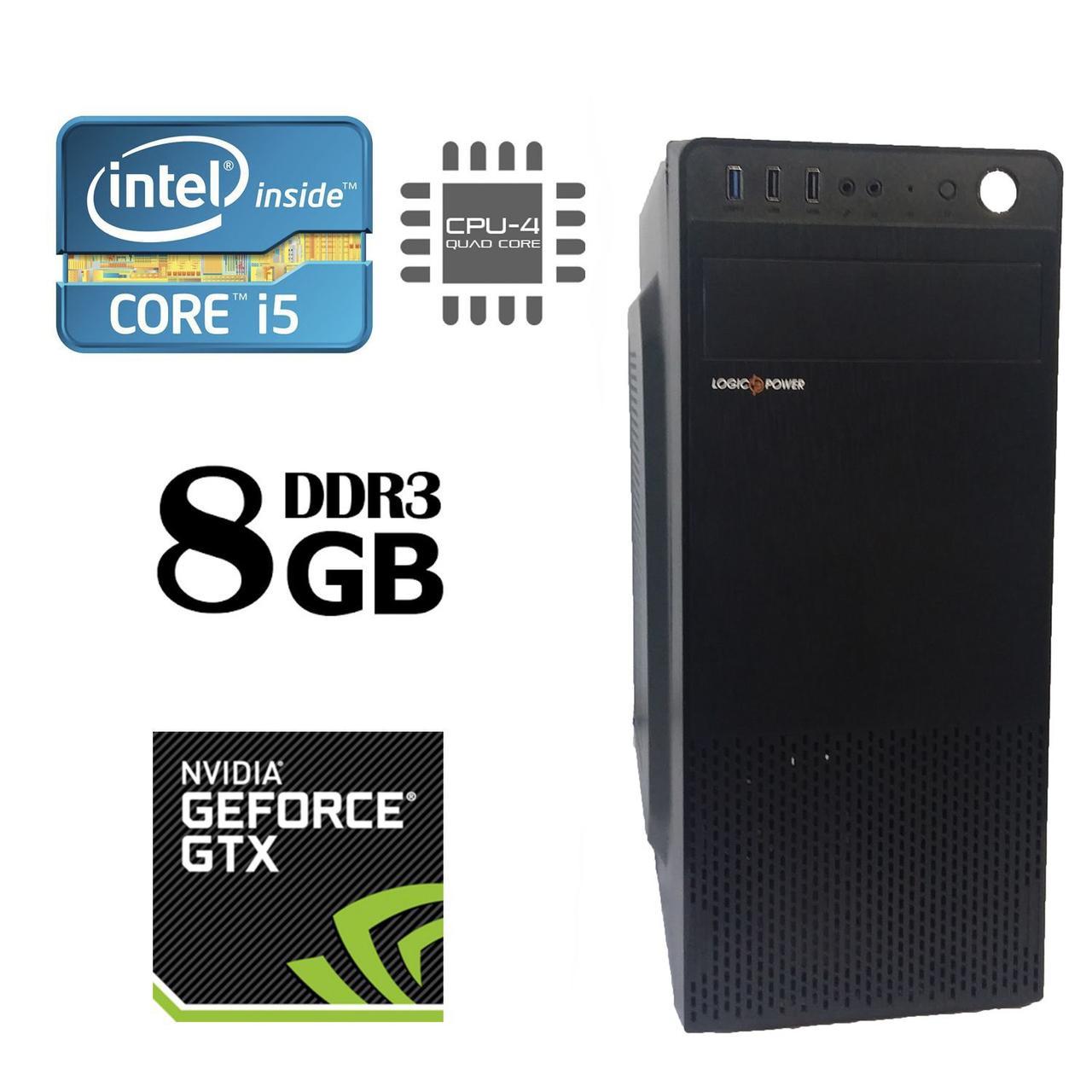 MSI MiniTower / Intel® Core™ i5-3470 (4 ядра по 3.20 - 3.60 GHz) / 8 GB DDR3 / 500 GB HDD+240 GB SSD / nVidia GeForce GTX 960 (2GB 128-bit GDDR5)
