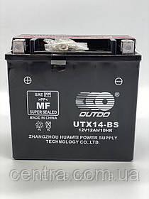 Аккумулятор мото Outdo 12Ah YTX14-BS