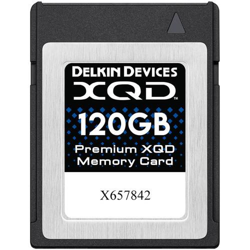 Карта памяти Delkin Devices 120GB Premium XQD Memory Card (DEXQD120GB) (DDXQD-120GB)