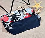 Пляжна сумка жіноча Фламінго, фото 3