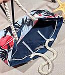 Пляжна сумка жіноча Фламінго, фото 4