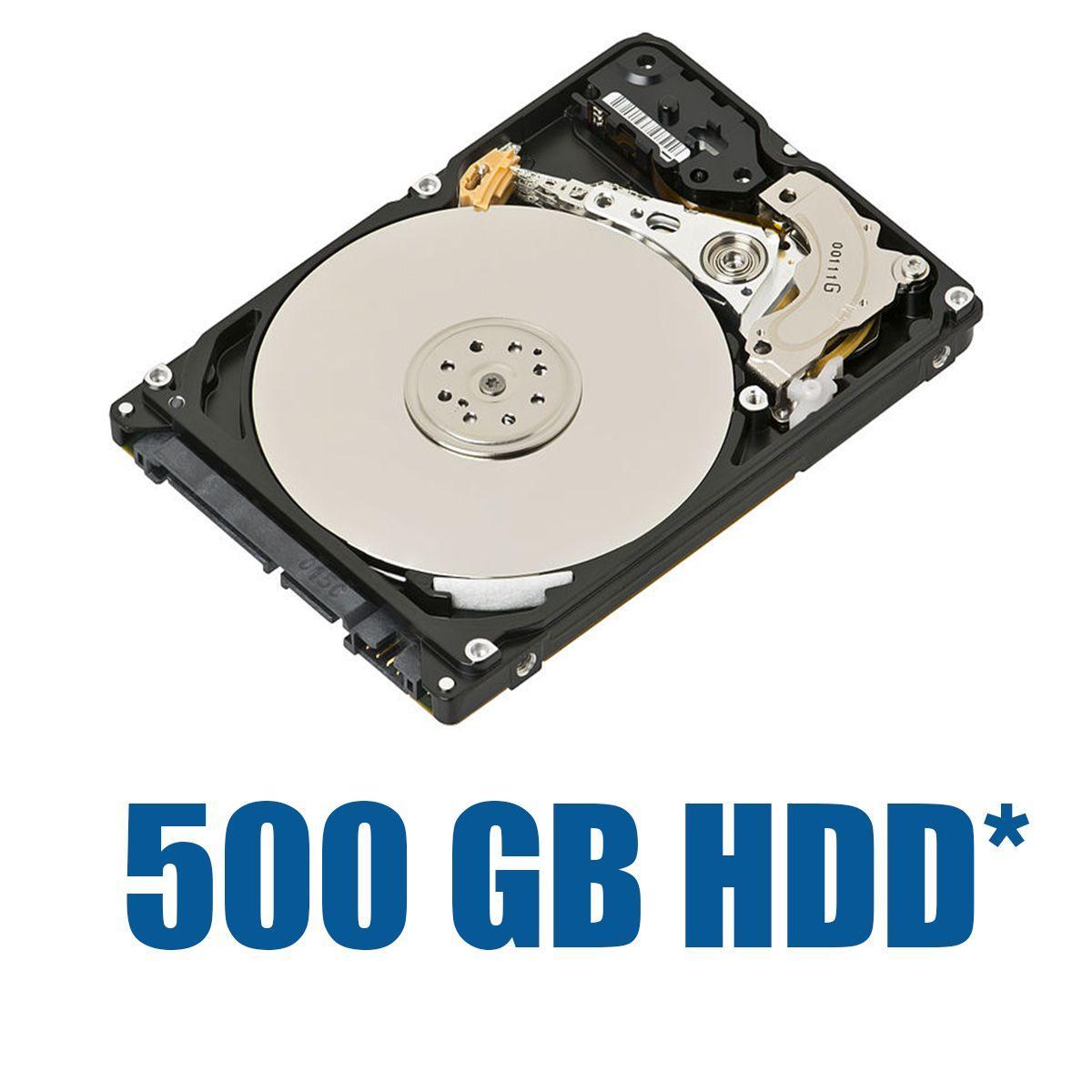 Модификация: Комплектация жестким диском 500 GB
