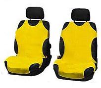 Чехлы-майки Elegant на передние сидения желтые EL 105 245