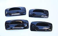 Евро ручки на Ваз 2110, 2111, 2112, 2170, 2172. Наружные дверные евро ручки 2110 Racing. Цвет черный.