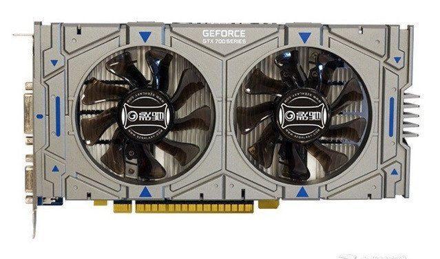 Дискретная видеокарта nVidia GeForce GTX 750 Ti, 2 GB GDDR5, 128-bit