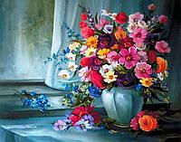 """""""Квіткові барви"""" Картины по номерам Розпис за номерами"""