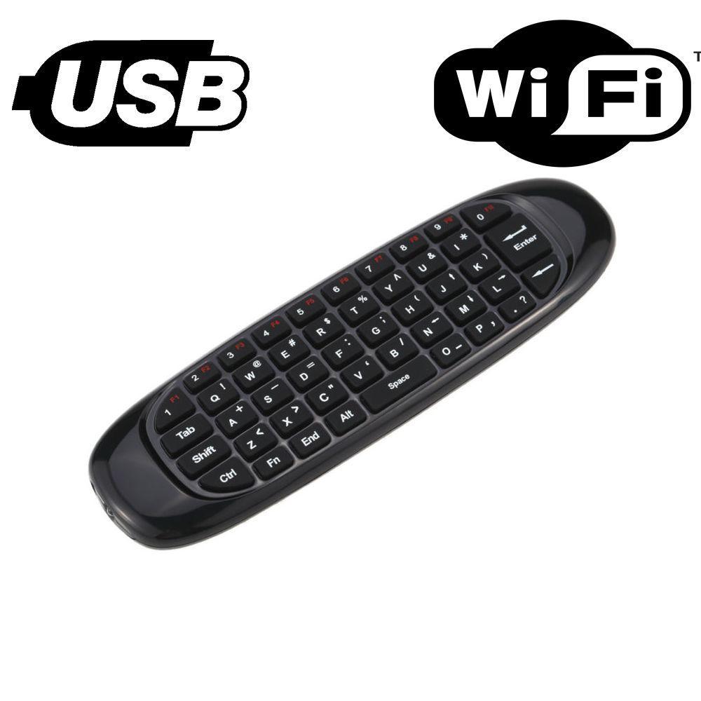3-в-1 : пульт дистанционного управления + клавиатура + воздушная мышь
