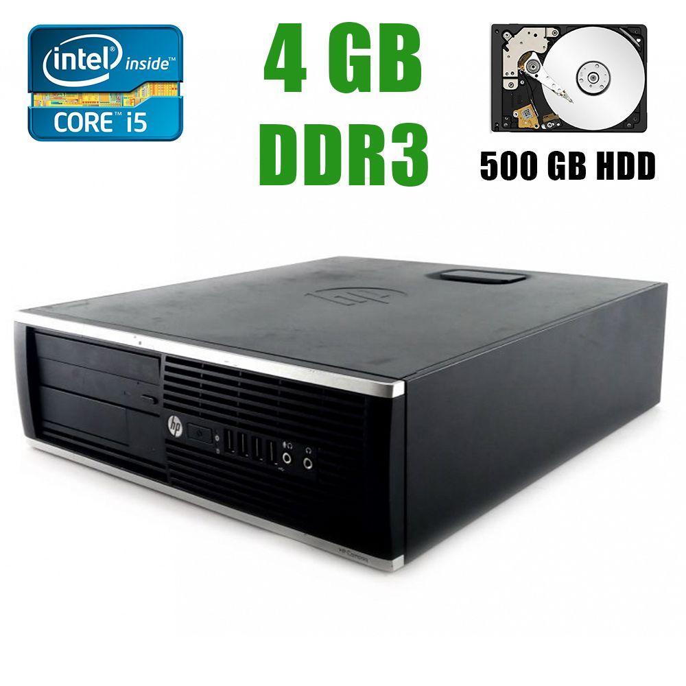 HP 8200 SFF / Intel® Core™ i5-2400 (4 ядра по 3.1 - 3.4Ghz) / 4GB DDR3 / 500GB HDD