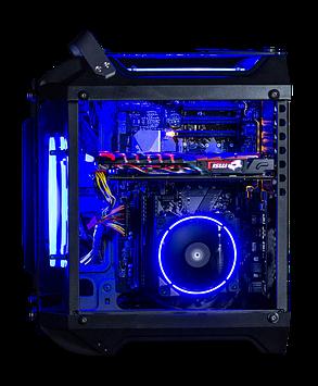 Vinga Limpid / AMD Ryzen 7 2700 (8(16)ядер по 3.2 - 4.1GHz) / 16GB DDR4 / 480GB SSD / GeForce GTX 1660 TI 6GB / 600W, фото 2