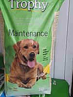 Корм для собак Трофи полноценный сухой 20 кг