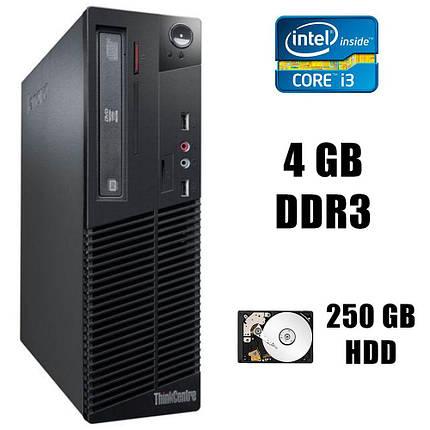 Lenovo M71 DT / Intel® Core™ i3-2120 (2(4)ядра по 3.3GHz) / 4GB DDR3 / 250GB HDD / DVD-RW, фото 2