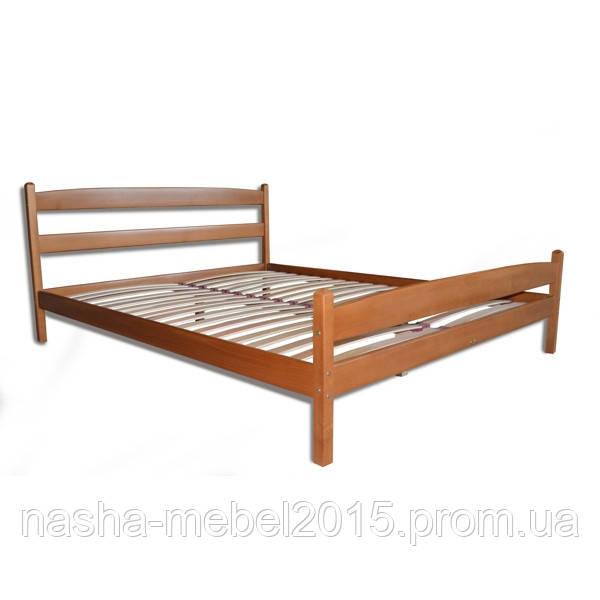 Кровать Полуторная Деревянная Лика бук