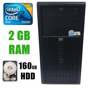HP dx2300 Tower / Intel Core2 Duo E6300 (2 ядра по 1.8 GHz)/ 2GB DDR2/ 160GB HDD (10.000 RPM), фото 2