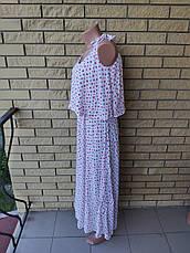 Сарафан  коттоновый длинный, в пол LA WANNA, фото 3