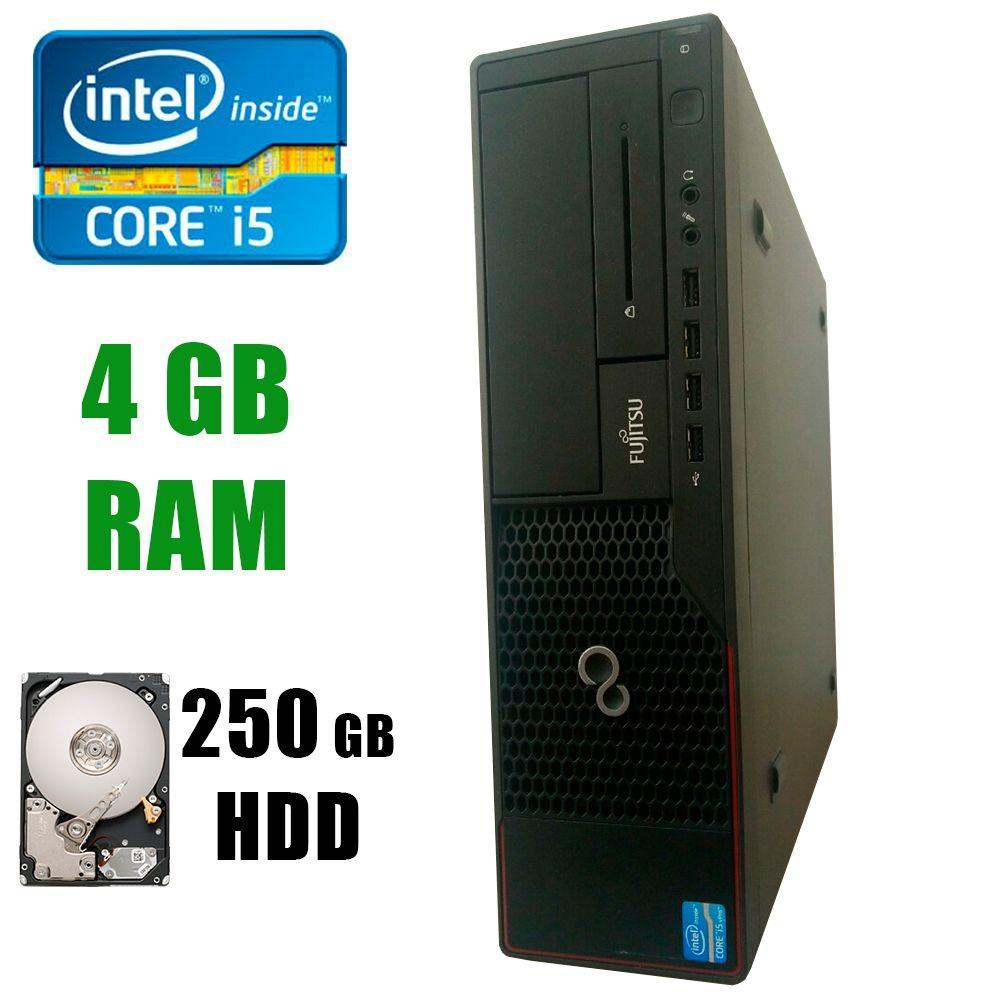 Fujitsu E900 SFF / Intel® Core™ i5-2500 (4 ядра по 3.3 - 3.7GHz) / 4GB DDR3 / 250GB HDD