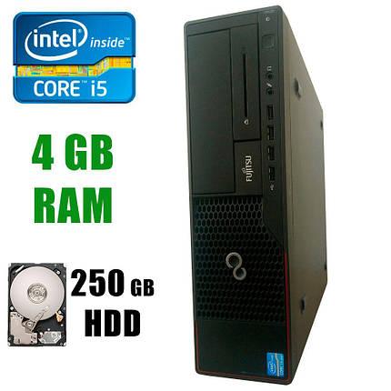 Fujitsu E900 SFF / Intel® Core™ i5-2500 (4 ядра по 3.3 - 3.7GHz) / 4GB DDR3 / 250GB HDD, фото 2