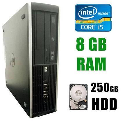 HP 8100 SFF / Intel® Core™ i5-650 (2(4)ядра по 3.2 - 3.46GHz) / 8GB DDR3 / 250GB HDD, фото 2