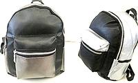 Городские рюкзаки из искусств.кожи (4 цвета)26*30см