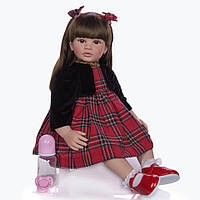 Кукла Keiumi Реборн девочка винил-силикон 60 см D0009