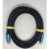 Кабель HDMI-HDMI (2.0V) 2K4K для компьютеров DVD 100 Мбит/сек 15м 90237 черный, фото 2