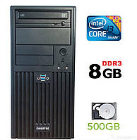 Chieftec Tower / Intel Core i3-3220 (2(4)ядра по 3.30GHz) / 8 GB DDR3 / 500 GB HDD / nVidia GeForce 210 1 GB GDDR3 64bit