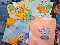 Пеленки для новорожденных бязь мальчик девочка