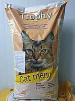 Корм сухой для взрослых котов Трофи 20 кг