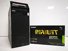 Lenovo Think Centre M81 / Intel Core i5-2400 (4 ядра по 3.1 - 3.4 GHz) / 8 GB DDR3 / 240 GB SSD NEW / nVidia GeForce GTX 1050 Ti, 4 GB GDDR5, 128bit, фото 2