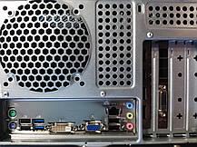 Hyundai Pentino Black Tower / Intel Core i5-3470 (4 ядра по 3.20 - 3.60 GHz) / 16 GB DDR3 / 240 GB SSD NEW+500 GB HDD / nVidia GeForce GTX 1060, 3 GB, фото 3