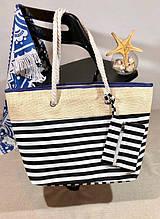 Пляжна сумка жіноча Стріпс