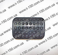 Накладка педали МТЗ тормоза левая (А13.34.001)