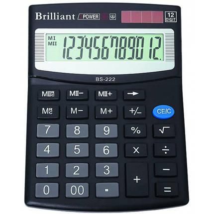 Калькулятор Brilliant BS-220, фото 2