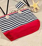 Пляжна сумка жіноча Стріпс №3, фото 3